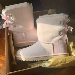 UGG Bailey Bow Boots Kids